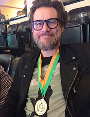 Jim Carrey Gold Medal