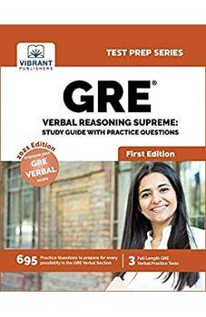 GRE Verbal Reasoning Supreme