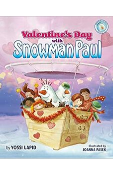Valentine's Day with Snowman Paul
